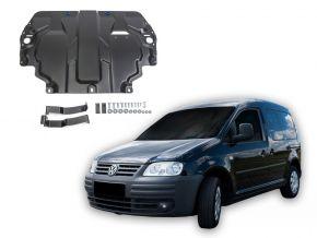 Stahlmotorabdeckung und Getriebeschutz für Volkswagen  Caddy III passt für alle Motoren (w/o heating system) 2006-2015