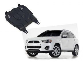 Stahlmotorabdeckung und Getriebeschutz für Mitsubishi ASX 1,6; 1,8; 2,0 2010-2018