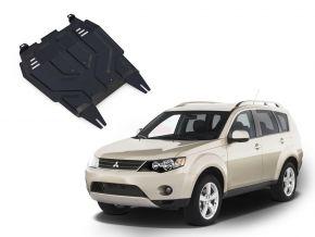 Stahlmotorabdeckung und Getriebeschutz für Mitsubishi Outlander  2,0; 2,4 2007-2012