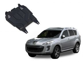 Stahlmotorabdeckung und Getriebeschutz für Peugeot  4007 2,2; 2,4 2007-2012