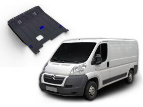 Stahlmotorabdeckung und Getriebeschutz für Citroen Jumper passt für alle Motoren 2007