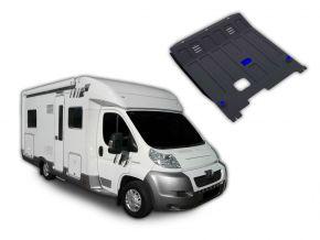 Stahlmotorabdeckung und Getriebeschutz für Peugeot  Boxer Caravan passt für alle Motoren 2006-2014