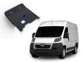Stahlmotorabdeckung und Getriebeschutz für Peugeot  Boxer passt für alle Motoren 2006-