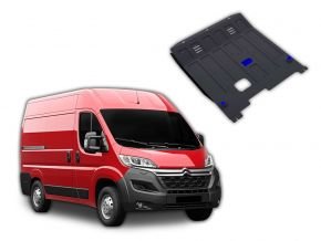 Stahlmotorabdeckung und Getriebeschutz für Citroen Jumper passt für alle Motoren 2014