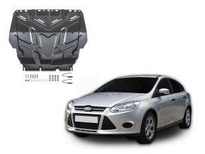 Stahlmotorabdeckung und Getriebeschutz für Ford  Focus III passt für alle Motoren 2011-2018