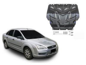Stahlmotorabdeckung und Getriebeschutz für Ford  Focus II passt für alle Motoren 2005-2011