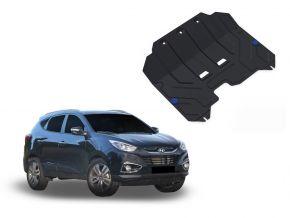 Stahlmotorabdeckung und Getriebeschutz für Hyundai  ix35 passt für alle Motoren 2010-2015