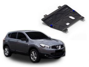 Stahlmotorabdeckung und Getriebeschutz für Nissan  Qashqai 1,6; 2,0 2006-2014