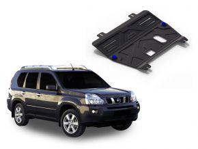 Stahlmotorabdeckung und Getriebeschutz für Nissan  X-Trail T31 2,0; 2,5 2007-2013