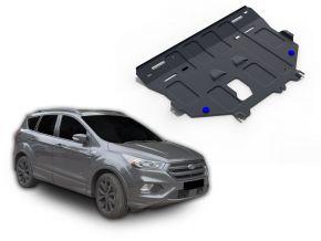 Stahlmotorabdeckung und Getriebeschutz für Ford Kuga 1,5 Ecoboost; 1,6; 2,5 2016
