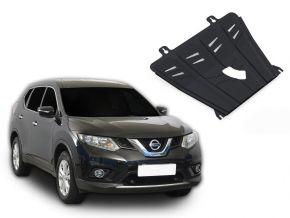 Stahlmotorabdeckung und Getriebeschutz für Nissan X-Trail T32 2,0; 2,5 2015