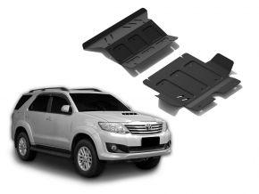 Stahlmotor- und Kühlerabdeckung für Toyota Fortuner 2,5TD; 3,0TD; 2,7  2007-2015