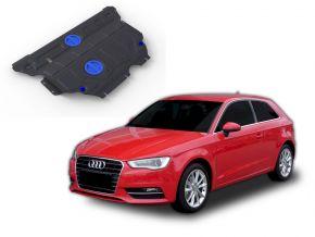 Stahlmotorabdeckung und Getriebeschutz für Audi A3 FWD/4WD 1,2TSI; FWD/4WD 1,4TFSI; FWD/4WD 1,8TFSI; FWD/4WD 1,8TSI 2012-