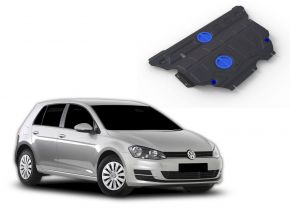 Stahlmotorabdeckung und Getriebeschutz für Volkswagen Golf VII 1,2TFSI; 1,4TFSI (122hp) 2013-