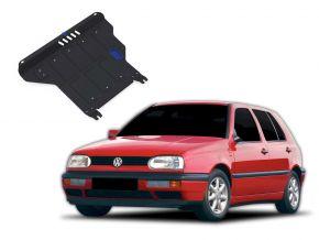 Stahlmotorabdeckung und Getriebeschutz für Volkswagen Golf III  MT 1,4; 1,6; 1,8; 2,0; 1,9TD 1991-1997