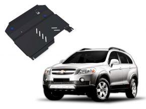 Stahlmotorabdeckung und Getriebeschutz für Chevrolet Captiva 2,4; 3,2 2006-2011