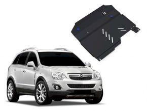 Stahlmotorabdeckung und Getriebeschutz für Opel Antara 2,4; 3,2 2006-2011