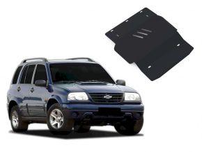 Stahlmotorabdeckung und Getriebeschutz für Chevrolet Tracker passt für alle Motoren 1998-2004