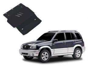 Stahlmotorabdeckung und Getriebeschutz für Suzuki Grand Vitara passt für alle Motoren 1998-2005