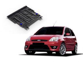 Stahlmotorabdeckung und Getriebeschutz für Ford Fiesta 1,3; 1,4; 1,6 2002-2008