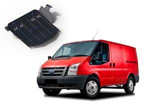 Stahlmotorabdeckung und Getriebeschutz für Ford Transit  RWD 2,2TD; RWD 2,4TD nur für die angegebene Motorisierung! 2007-2015