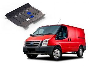 Stahlmotorabdeckung und Getriebeschutz für Ford Transit  FWD 2,2TDI nur für die angegebene Motorisierung! 2007-2015