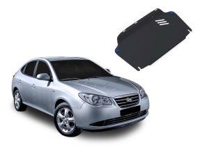 Stahlmotorabdeckung und Getriebeschutz für Hyundai Elantra 1,6; 2,0 2007-2011