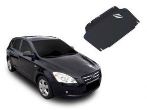 Stahlmotorabdeckung und Getriebeschutz für Kia Ceed / Ceed SW / Pro Ceed 1,4; 1,6; 2,0 2007-2012
