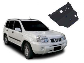 Stahlmotorabdeckung und Getriebeschutz für Nissan X-Trail passt für alle Motoren 2001-2007