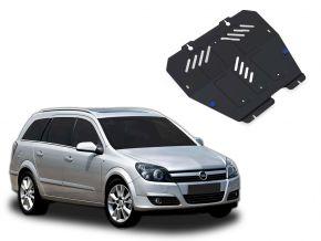 Stahlmotorabdeckung und Getriebeschutz für Opel Astra 1,4; 1,6; 1,8 2004-2009