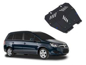 Stahlmotorabdeckung und Getriebeschutz für Opel Zafira 1,6; 1,8; 2,0; 2,2 2006-2011