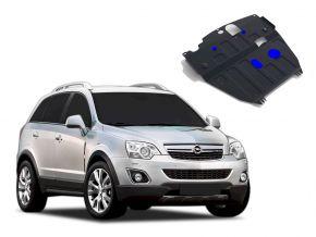 Stahlmotorabdeckung und Getriebeschutz für Opel Antara 2,2D; 2,4i; 3,0i 2012-2015