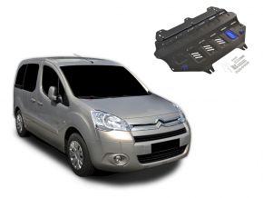 Stahlmotorabdeckung und Getriebeschutz für Citroen Berlingo passt für alle Motoren 2008-