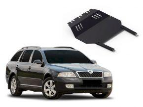 Stahlmotorabdeckung und Getriebeschutz für Skoda Octavia Tour passt für alle Motoren 2004-2010