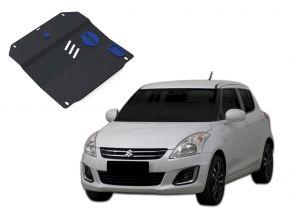 Stahlmotorabdeckung und Getriebeschutz für Suzuki Swift passt für alle Motoren 2011-2015