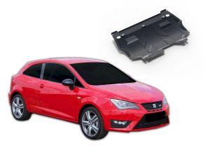 Stahlmotorabdeckung und Getriebeschutz für Seat Ibiza passt für alle Motoren 2008-2014