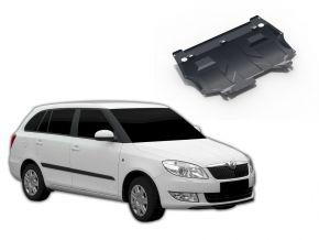Stahlmotorabdeckung und Getriebeschutz für Skoda Fabia 1,2; 1,4; 1,6 2007-2015