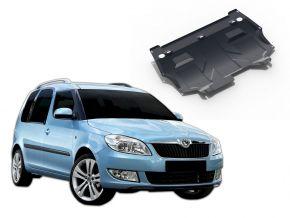 Stahlmotorabdeckung und Getriebeschutz für Skoda Rооmster passt für alle Motoren 2006-2015