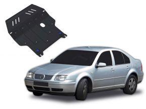 Stahlmotorabdeckung und Getriebeschutz für Volkswagen Bora passt für alle Motoren 1998-2005