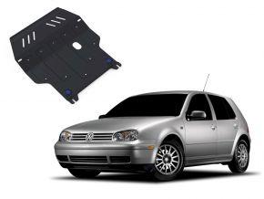 Stahlmotorabdeckung und Getriebeschutz für Volkswagen Golf IV passt für alle Motoren 1998-2005