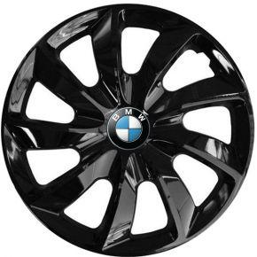 """Radkappen für BMW 14"""", STIG schwarz lackiert 4 Stück"""