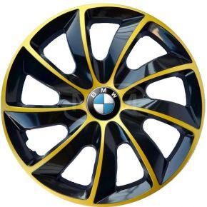 """Radkappen für BMW 15"""", STIG EXTRA goldene  4 Stück"""