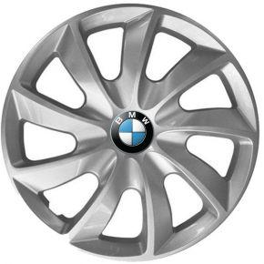 """Radkappen für BMW 14"""", STIG grau lackiert 4 Stück"""