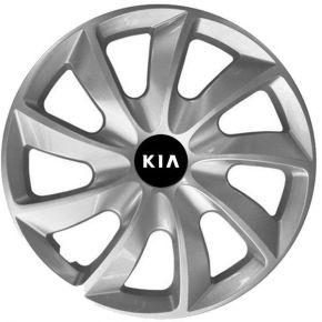 """Radkappen für KIA 14"""", STIG grau lackiert 4 Stück"""