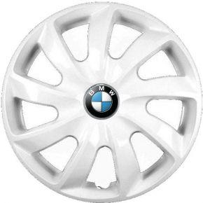 """Radkappen für BMW 14"""", STIG weiß lackiert 4 Stück"""