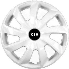 "Radkappen für KIA 14"", STIG weiß lackiert 4 Stück"