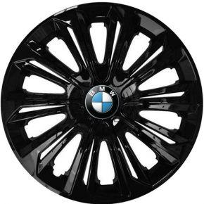 """Radkappen für BMW 15"""", STRONG schwarz lackiert 4 Stück"""