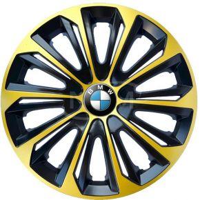 """Radkappen für BMW 15"""", STRONG EXTRA goldene 4 Stück"""