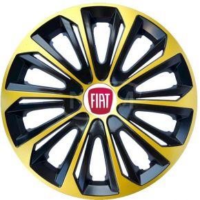 "Radkappen für FIAT 14"", STRONG EXTRA goldene 4 Stück"