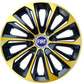 "Radkappen für FIAT 15"", STRONG EXTRA goldene 4 Stück"